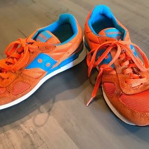 Saucony Shadow Running Shoes, Bright Orange